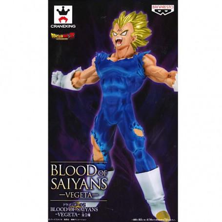 Banpresto Dragon Ball Z Majin Vegeta Blood of Saiyans