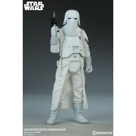 Sideshow Star Wars SnowTrooper Commande 1/6