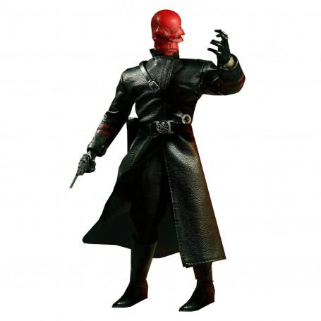 Mezco The One 12 Captain America Red Skull