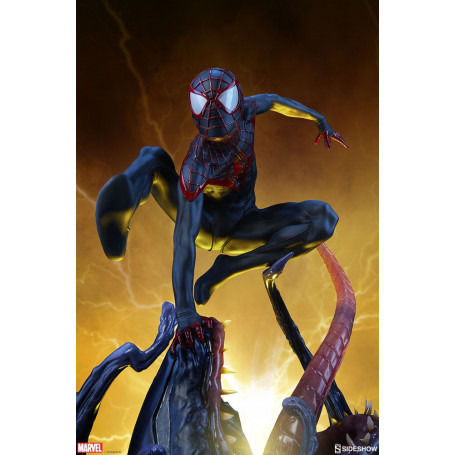 Sideshow Statue Spiderman Miles Morales