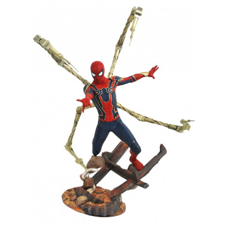 Diamond Marvel Premier Collection Statue Iron Spider - Avengers Infinity War
