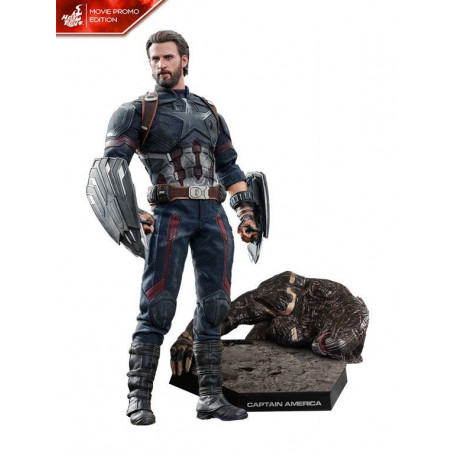 Hot Toys Avengers Infinity War figurine 1/6 Captain America Movie Promo