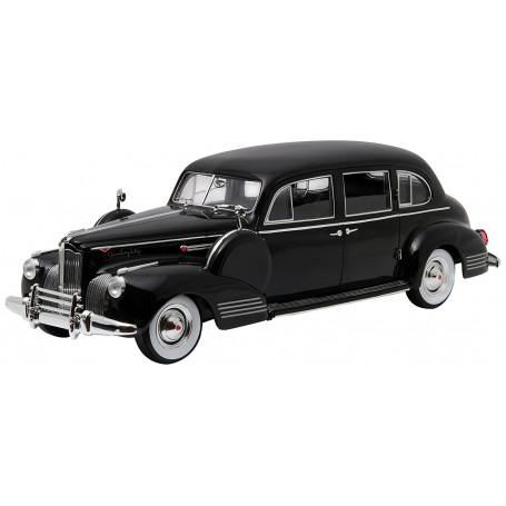 GreenLight Collectibles - The Godfather 1941 Packard Super Eight One-Eighty Black - 1/18 - le Parrain