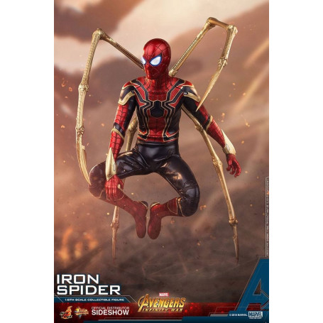 Hot Toys Movie Masterpiece Avengers Infinity War figurine 1/6 Iron Spider - Spiderman