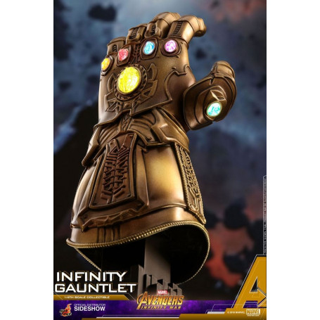 Hot Toys Avengers Infinity War réplique Gant D'infinité 1/4 Infinity Gauntlet Thanos 17cm