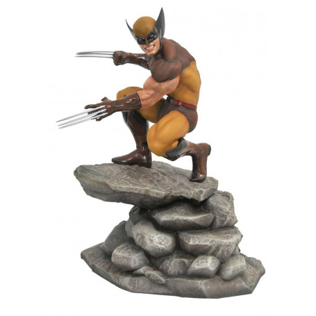 Diamond Marvel Gallery Figurine - Wolverine - Brown