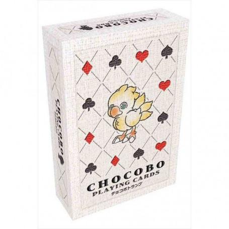 Jeu de cartes a jouer CHOCOBO