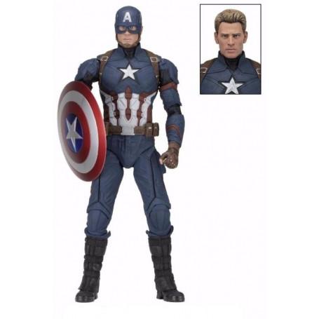 Neca figurine 1/4 Captain America Civil War