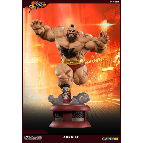 Pop Culture Shock Street Fighter Statue Zangief 1/4