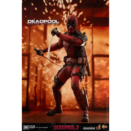 Deadpool 2 figurine hot toys Masterpiece 1/6 31 cm