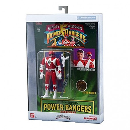 Bandai Power Rangers : Mighty Morphin – Legacy – Ranger Rouge Auto Morphin
