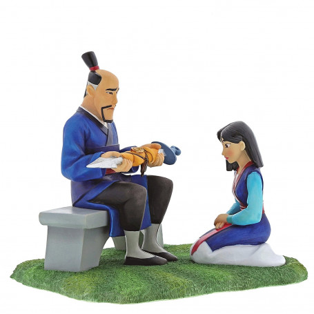 Disney enchanting collection Statuette Mulan - Gifts to Honour