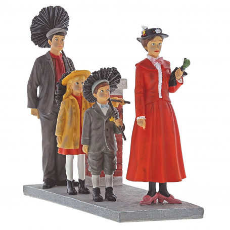 "Enesco Enchanting Disney Figurine Collection Mary Poppins ""Step in Time"""