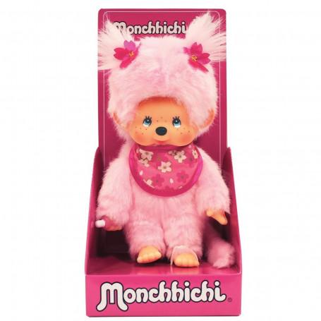 Bandai - Monchhichi Pink - kiki