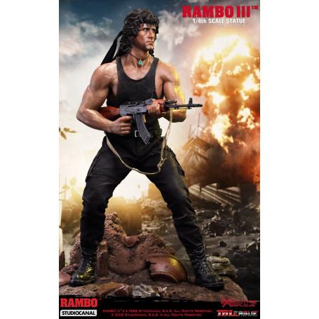 Phicen Rambo Ⅲ 1/4 Scale Premium Statue