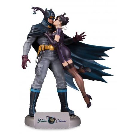 DC Comics Bombshells statue Deluxe Batman & Catwoman - 28 cm