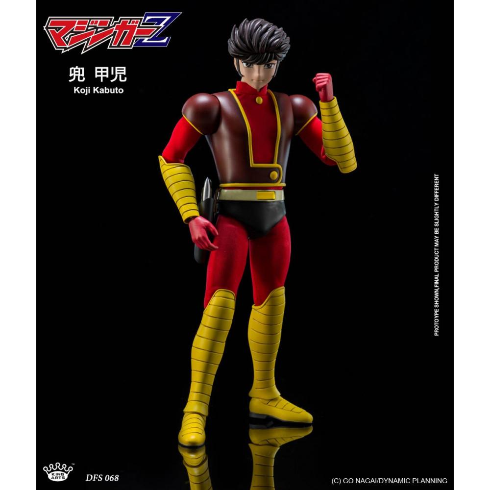 King Arts DFS068 Mazinger Z Koji Kabuto 1//9 Scale Action Figure