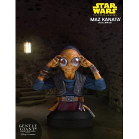 Star Wars Episode VII buste Gentle Giant 1/6 Maz kanata - 18 cm