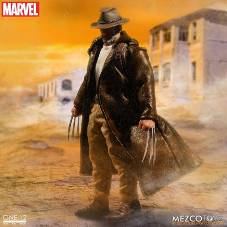 Mezco Marvel Universe figurine 1/12 Old Man Logan 15 cm