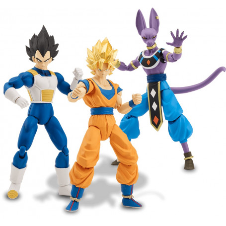Bandai Dragon Ball Super - Dragon Stars Serie 1 Set Complet
