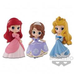 Banpresto Disney Q Posket Petit - Ariel - Sofia - Aurora