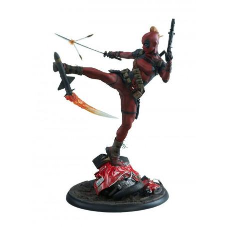 Sideshow Lady Deadpool Statue Premium Format Marvel