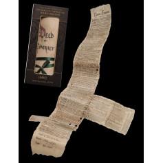 Weta Le Hobbit réplique Contrat de Bilbon 3/4