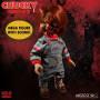 Mezco Figurine Mega Scale Chucky Pizza face - 38cm
