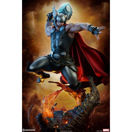 Sideshow Marvel statue Premium Format - Thor Breaker of Brimstone - 65cm