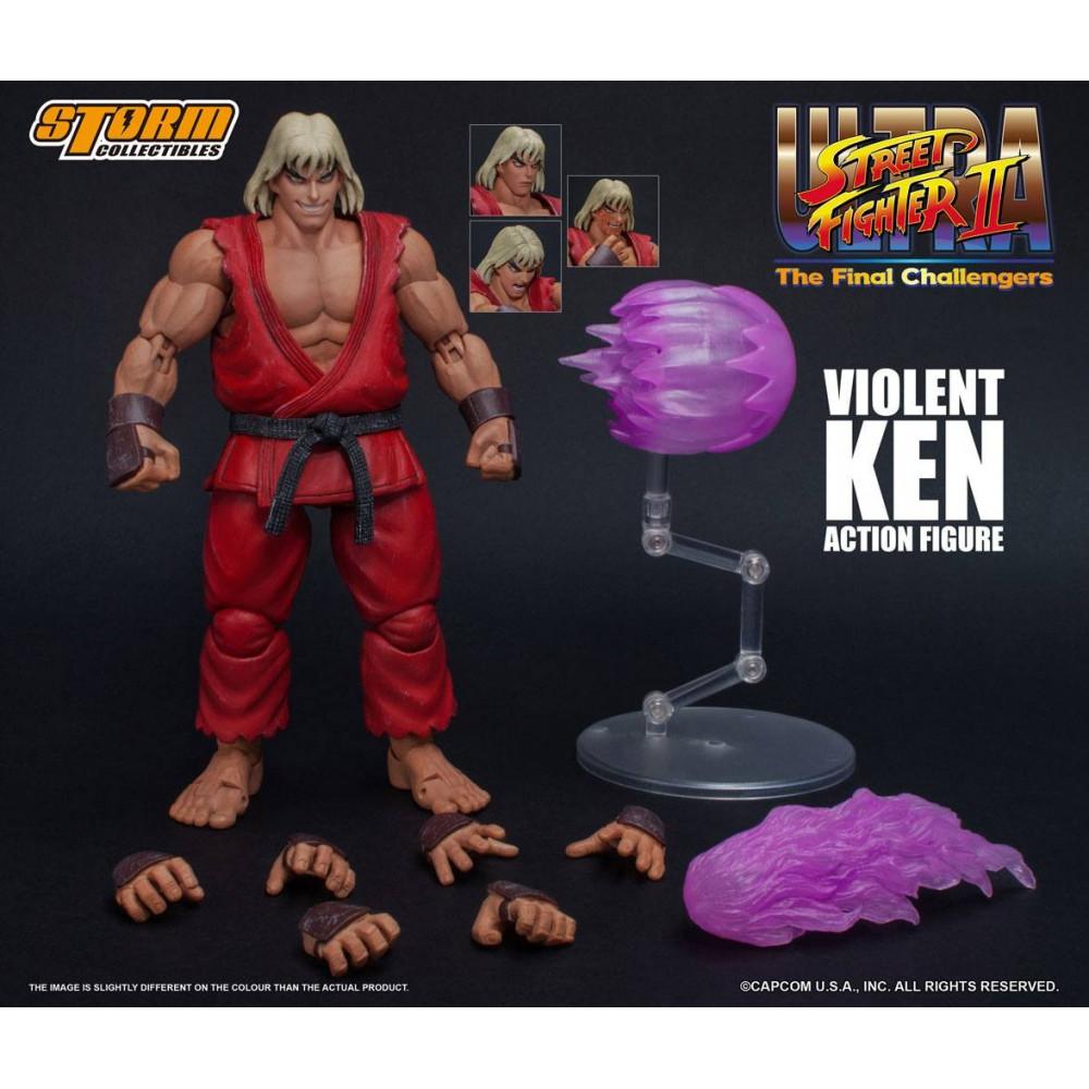 Street Fighter II violent Ken le final Challengers Action Figure