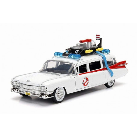 Jada Toys - Hollywood Rides - 1959 Cadillac Ecto-1 SOS Fantômes Ghostbusters - Metals/Die Cast 1/24
