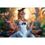 Sideshow Alice Au Pays Des Merveilles Fantasies Collection Campbell