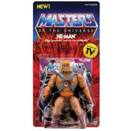 Masters of the Universe - Les Maîtres de l'Univers - Vintage Collection figurine He-Man - Musclor 14 cm