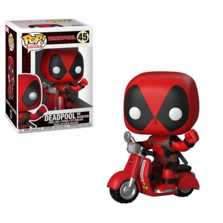 Funko POP Rides 48 - Marvel Deadpool on Scooter