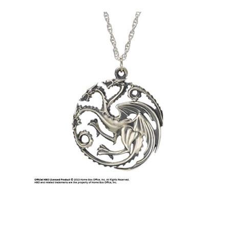 Game of Thrones Pendentif Targarien Le Trône de fer Noble Collection