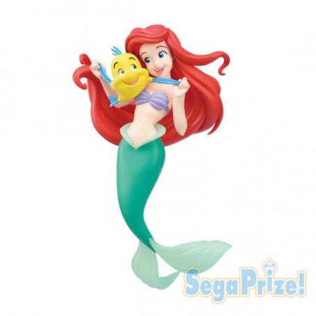 Sega Super Premium Figure - Ariel et Polochon - La Petite Sirene