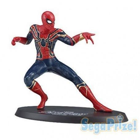 Sega Avengers Infinity War Figurine Iron Spider