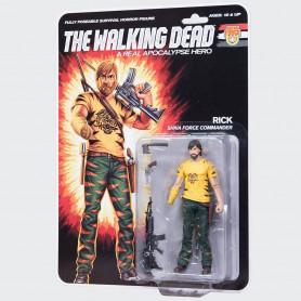 McFarlane The walking dead Shiva Force Commander Rick Color