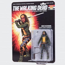 McFarlane The walking dead Shiva Force Samurai Michonne