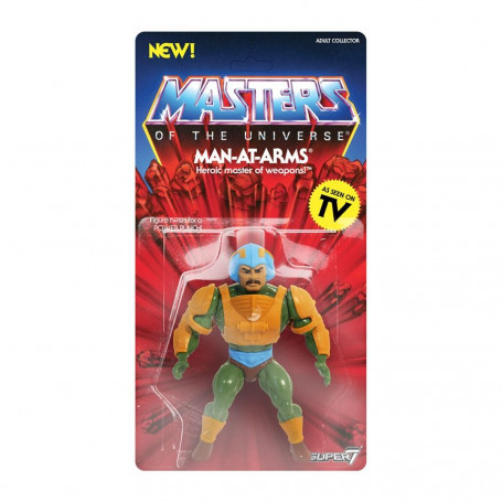 Masters of the Universe - Les Maîtres de l'Univers - Vintage Collection figurine Maitre d'Arme - Man-At-Arms 14 cm
