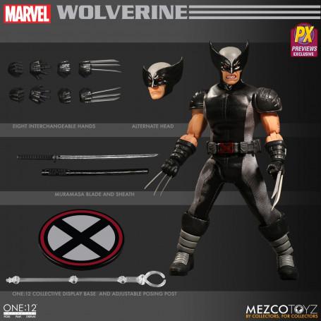 Mezco Marvel Universe figurine 1/12 Wolverine X-Force