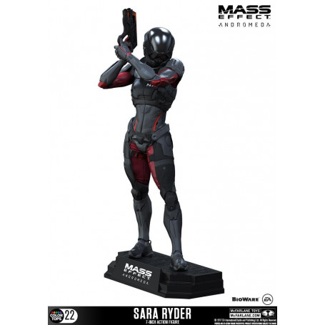 McFarlane Figurine Mass effect Andromeda Color Tops Sara Ryder