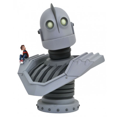 Diamond Select Buste Le Géant de fer - The iron Giant - Legends in 3D - 25 cm