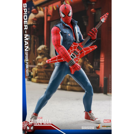 Marvel's Spider-Man figurine Videogame Masterpiece 1/6 Punk Suit