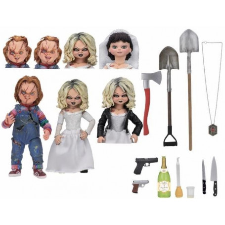 Neca Child's Play - Ultimate Chucky and Tiffany