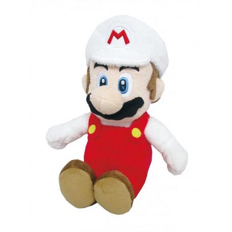 NINTENDO - Peluche Mario Bros Wii 20cm Fire Mario