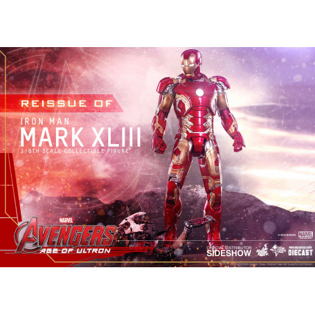 Hot Toys Iron Man Avengers 2 Diecast Age of Ultron 1/6 Mark XLIII