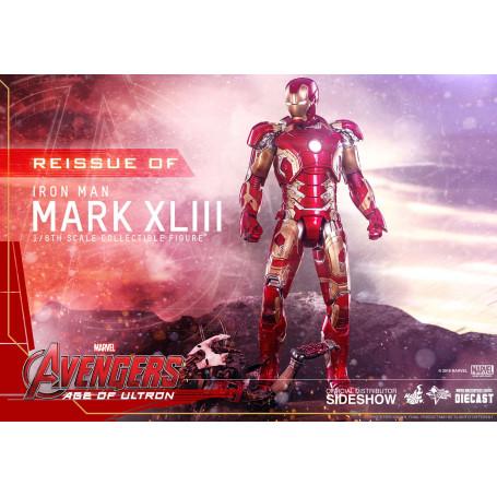 Hot Toys Iron Man Avengers 2 Diecast Age of Ultron 1/6 Mark XLIII