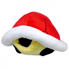 Nintendo - Peluche coussin Carapace Rouge Koopa Peluche