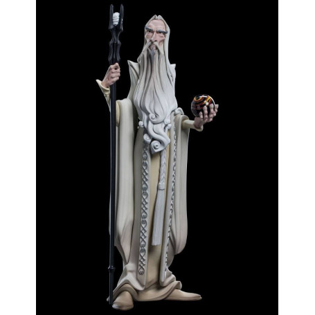 Weta Statue Vinyl Le Seigneur des Anneaux - Mini Epics - Saruman Saroumane- 17 cm